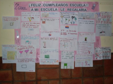 24 de marzo aniversario de la Escuela Nº 359 Manuel Belgrano